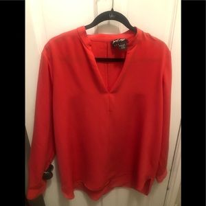 Lord &Taylor 424 Hot Pink Blouse